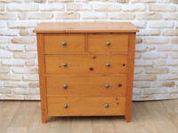 Traditional pine chest of drawers dovetails (Delivery)