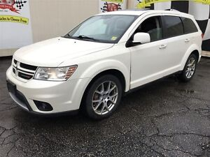 2012 Dodge Journey R/T, Navigation, Leather, AWD, Only 41,000km