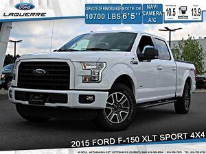 2015 Ford F-150 XLT**SPORT*4X4*NAVI*CAMERA*A/C**