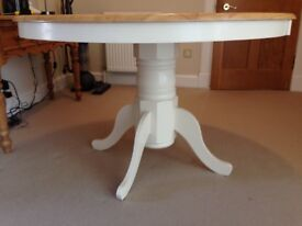 ROUND DINING/KITCHEN TABLE 120CM (NO CHAIRS)