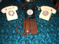 OLD TELEPHONE COLLECTION (SPAIR OR REPAIRS)