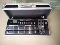Line 6 POD X3 Live WITH Swan FLIGHTCASE for Guitar Bass Vocal Immaculate Condition