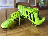Boys Adidas Football Boots - Size 11 Infant - Yellow