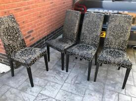 Four Next Chairs