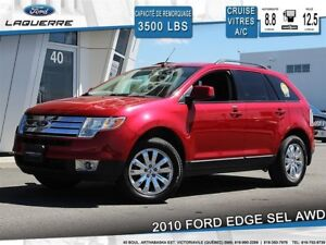 2010 Ford Edge SEL**AWD*CRUISE*A/C*GR. ÉLECTRIQUE**