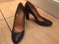 Real leather shoes - size 8