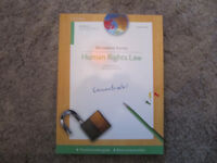 Human Rights Law by Bernadette Rainey - Concentrate - vgc- £4