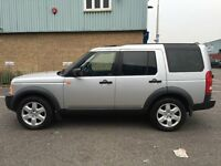 LHD LEFT HAND DRIVE LAND ROVER DISCOVERY 3 TDV6 HSE SILVER 2005 AUTOMATIC