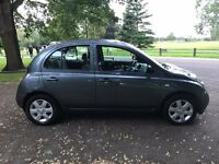 2003 NISSAN MICRA SVE 1.4 TECHNO GREY FHS LOW MILAGE