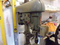 Boxford Union Pedestal drill