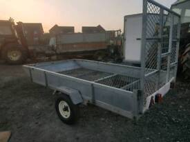 9x5 apache mesh trailer ideal for quads ride on lawn mower etc