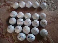 22 Titleist Prov1 golf balls mixed condition