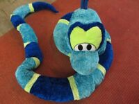 Large Cudley Soft toys - Fish and Reptile