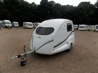 GOING POD Micro Caravan. 2015 Very little Use, New Condition with New, Unused Inflatable Awning