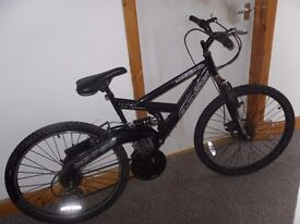 ******(gents mountain bike boss black dawn dual swingram hi/ten)******