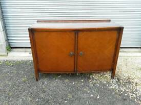 Vintage dark wood sideboard