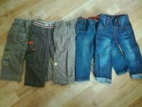 Boys 12-18 months Trousers Bundle
