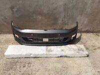 Vw Golf Mk7 Front Bumper 2013-2015