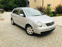 VOLKSWAGEN POLO 1.2 TWIST IMMACULATE CONDITION AND LOW MILEAGE MOT 1 YEAR ***MUST BE SEEN***