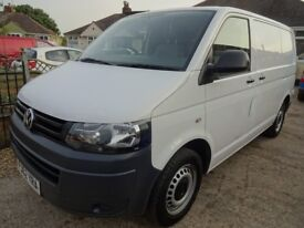 VW TRANSPORTER T28 TDI. AIR CONDITIONING, CRUISE CONTROL, TWIN SLIDING SIDE DOORS. ONE OWNER FSH