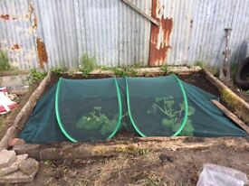 Pop-up Polytunnel ideal for garden or allotment