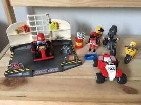 Playmobil go kart, bike and quad