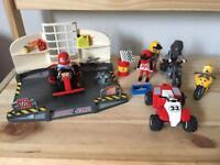 Playmobil go kart, bike and quad
