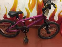 Avigo pink girls bike