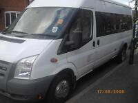 16/17 SEATER MINIBUS/COACH HIRE/RENT SERVICE WITH DRIVER KENT ESSEX LONDON