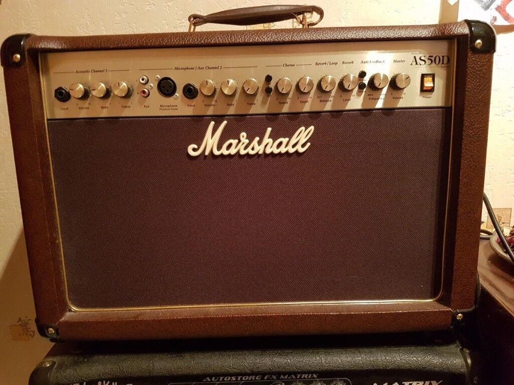 Guitar Amp For Sale Acoustic Guitar Amp Marshall As50d Google It