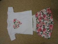 set skirt + shirt