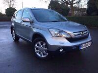 2008 HONDA CR-V ES I-VTEC AUTOMATIC 4WD SUV , HPI CLEAR , FINANCE: £500 DEPOSIT £175 X 48 MONTHS
