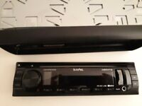 Car Radio LED Display Stereo MP3 music FM AUX USB