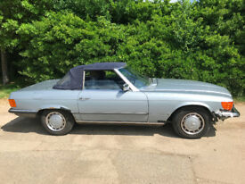 MERCEDES SL280 1984 R107 CONVERTIBLE HARD TOP INCLUDED 102K MILES