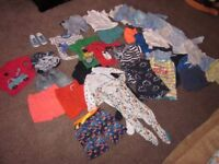 Large bundle of baby boys clothes, Next, M&S, excellent some new x 41 items
