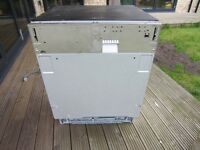 SMEG DI6012 dishwasher for parts or repair - only 2 years old and very nice clean condition