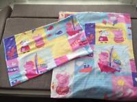 Peppa Pig Toddler Duvet Cover and Pillowcase