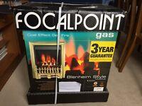 Focalpoint coal effect gas fire