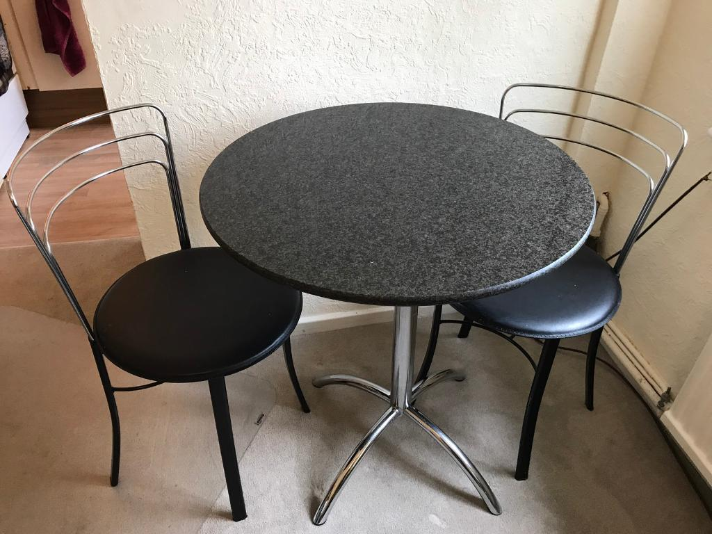 John Lewis Granite Table And Chairs In Chelmsford Essex