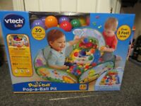 Vtech pop a ball pit. Brand new in box. Learning toy.