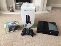 Xbox 360 / 250GB + 6 games