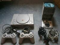 Sony Playstation with 11 games + 2 controllers