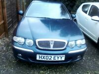 Rover 25 diesel hatch 2002 spares or repair