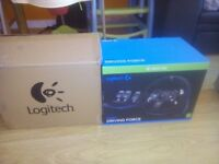 New logitech G920 wheel + shifter only 160£