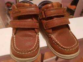 Boys Clark first shoes
