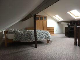 Beautiful spacious attic room