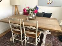 Vintage 6FT farmhouse dining table