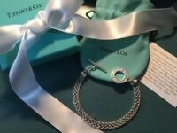 "Tiffany and co Bracelet..Brand New..7.5"""