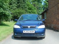 Vauxhall Astra 1.6 petrol (Cat C write off and MOT failiure) spares and repairs