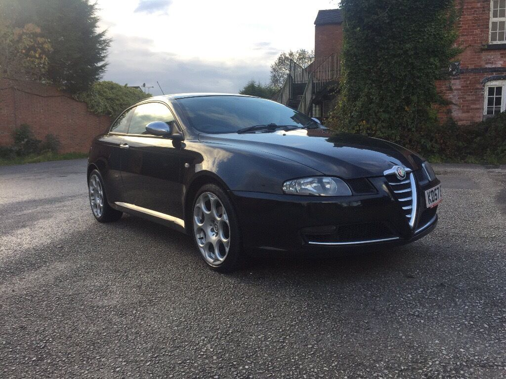 2007 Alfa Romeo GT BlackLine 19 JTDm Full MOT Diesel Coupe Limited Edition
